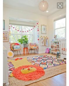 Textile heaven playroom inspo... Pic credit @apartmenttherapy #kidsinterior #kidsroom #kidsbedroom #childrensroom #childrensinteriors #kidsdecor #decor #kidsbedroominspiration #childrensbedroom #childrensspaces #girlsroom #girlsbedroom #boysroom #boysbedroom #interiorinspo #bedroom #interiors #roxyoxycreations #playroom