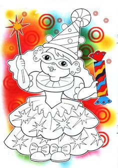 Activities For Kids, Crafts For Kids, Circle Art, 2 Colours, Smurfs, Halloween, Coloring Pages, Art Drawings, Mandala