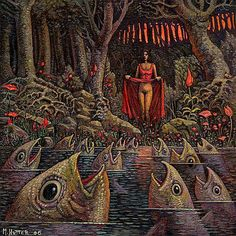 Michael Hutter is a German painter, a visual artist in the classical meaning of the word.