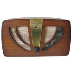 Media room   Eames Designed Radio | From a unique collection of antique and modern desk accessories at https://www.1stdibs.com/furniture/more-furniture-collectibles/desk-accessories/