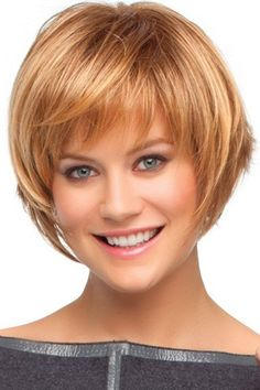 Photo: Short Layered Haircuts With Bangs Short Bob Hairstyles With Bangs 4 Perfect Ideas For You Talk - Hairstyle Picture Magz Bob Haircut With Bangs, Bob Hairstyles With Bangs, Haircuts For Fine Hair, Hairstyles Haircuts, Straight Hairstyles, Haircut Styles, Haircut Short, Hairstyle Short, Bob Bangs