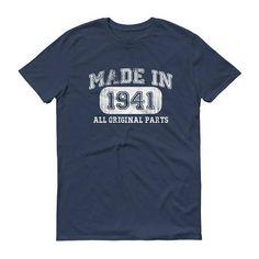 1941 Birthday Gift, Vintage Born in 1941 t-shirt for men, 76th Birthday shirt for him, Made in 1941 T-shirt, 76 Year Old Birthday Shirt #him #76thBirthdayGift #men #1941Shirt #BornIn1941 #76thBirthdayShirt #1941BirthdayGift #1941Birthday #BirthdayGift #76thBirthday
