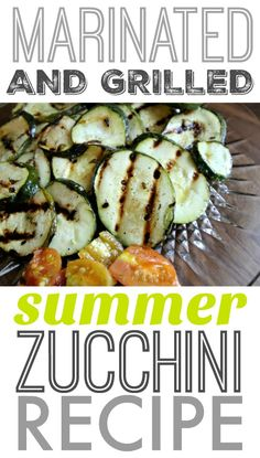 A great simple zucchini side dish recipe to add to your collection! Especially helpful if you have a ton of zucchini from you garden that you need to… Potluck Recipes, Grilling Recipes, Great Recipes, Favorite Recipes, Healthy Recipes, Healthy Foods, Dinner Recipes, Zucchini Side Dishes, Vegetable Dishes