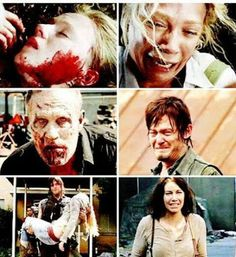 Brothers and sisters.       It's so sad especially with Maggie and Beth
