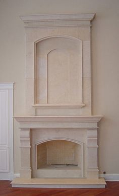 Stone Overmantel Fireplaces | Marble Over Mantels | Cast Stone Surrounds | Limestone Upper Mantel