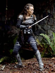 """""""I offered her the role. She said yes. Thank goodness.""""- Jason Rothenberg (on how Alycia got cast as Lexa)"""