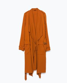 Image 7 of LOOSE-FIT TRENCH COAT from Zara