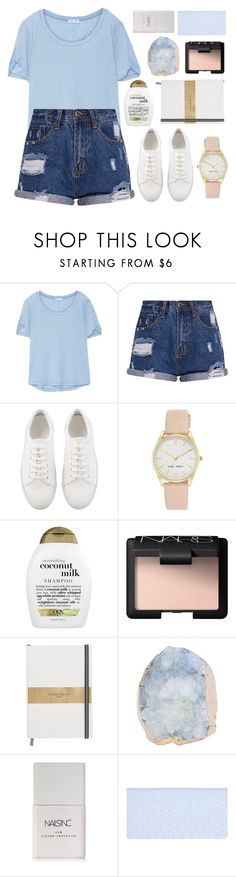 """— you are the music in me"" by pe-achy ❤ liked on Polyvore featuring Splendid, Nine West, Organix, NARS Cosmetics, Nails Inc., Balmain, polyvorecommunity, polyvoreeditorial and polyvorefashion"