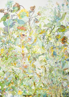 Joan Becker, Late Summer, Watercolor, 40 x 30. 2011.