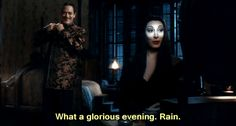 "You will celebrate Valentine's Day in bed with TV and pizza. | Community Post: 19 ""Addams Family"" Moments To Get You Through Valentine's Day"