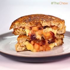 Clinton Kelly's Brie and Apple Grilled Cheese #TheChew