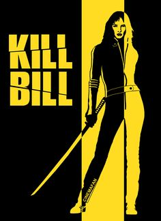 Kill Bill by Cinemafan on Redbubble #quentin #tarantino #movie #movies #kill #bill #killbill #uma #thurman #art