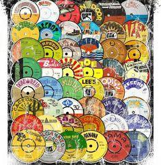 Boss Reggae labels