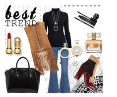 """""""Best Trend"""" by anabritt on Polyvore featuring moda, M.i.h Jeans, Rumour London, Monsoon, Laurence Dacade, Givenchy, Kate Spade, Chanel e Rodial"""