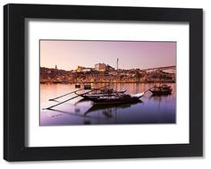 Framed Print-Sunset Douro river (Oporto)-Framed Print made in the USA Poster Prints, Framed Prints, Canvas Prints, Port Wine, Southern Europe, Douro, World Heritage Sites, Old Things, Images