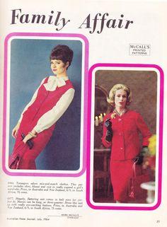 3 Unused Dress Patterns plus Australian by allthepreciousthings