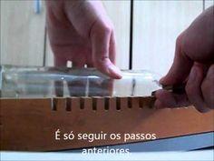 Como cortar garrafas de vidro utilizando resistência elétrica - 02 - Die...