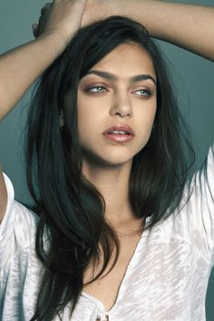 Zhenya Katava the beauty.