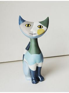 Goebel Giovanni Cat By Rosina Wachtmeister. by BringTheNoise