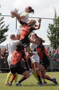 Dutch womens rugby //