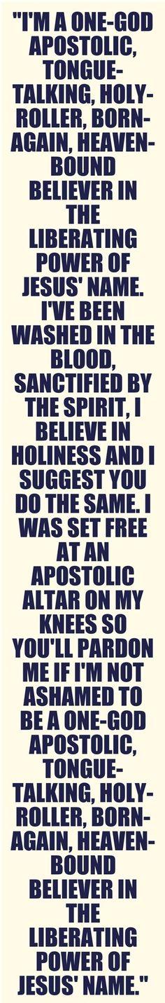 Apostolic!