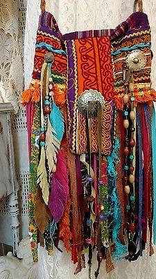 Handmade Ibiza Festival Cross Body Fringe Bag Hippie Boho Tribal Purse tmyers Source by shannonholcombe Ideas boho Boho Hippie, Hippie Purse, Hippie Bags, Boho Bags, Boho Gypsy, Hippie Style, Gypsy Bag, Lace Bag, Fringe Bags