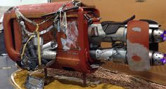 On April 16th, at Star Wars Celebration, Rey's speeder was revealed on the convention floor
