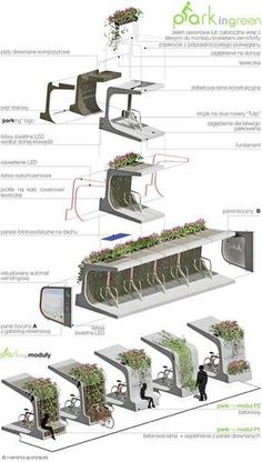 Bike rack urban design street furniture 30 ideas for 2019 are in the right place about Urbanism Architecture minimalist Here we offer you the most beautiful pictures about the old Urbanism Architecture you are looking fo Architecture Durable, Urban Architecture, Sustainable Architecture, Sustainable Design, Classical Architecture, Module Architecture, Memorial Architecture, Computer Architecture, Landscape Architecture