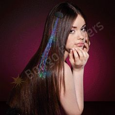 LIGHT HAIR SPARKLE CLIP EXTENSIONS - Bongo Flashers Witchy Hair cf7d87dfbe59