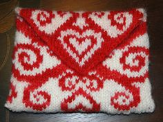 Say Happy Valentines Day with Knitting and Crochet - quick patterns