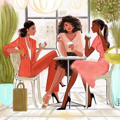 Founder of Nicholle Kobi Studios and Nikisgroove Brand. Nicholle is Black French Illustrator mostly know for her Black women 's Art work Nicholle Kobi is also a Visual Artist , Fashion enthusiast , a Speaker. Black Girl Art, Black Women Art, Art Girl, Lotus Art, Joy Art, Art Of Love, Black Cartoon, Fanart, Black Artwork