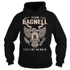 Cool Team BAGNELL Lifetime Member - Last Name, Surname T-Shirt T shirts