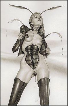 Alice in Rubberland - Zeichnung Nr. 31340