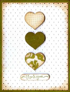 Super easy card for cardmaking night