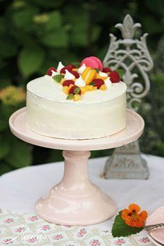 Peach Melba Torte // MaLu's Köstlichkeiten