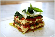Raw Lasagna recipe