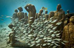 Underwater Art in Mexico