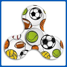 VfIvefi Fidget Tri-Spinner Toys Hand Spinner Sports Stress Reducer For Helps Focus Stress Anxiety Adult Children - Fidget spinner (*Amazon Partner-Link)