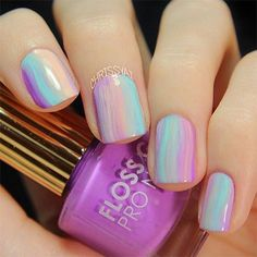 Pastel Color Waves by CHRISSYAI. Video tutorial...just click the pic.
