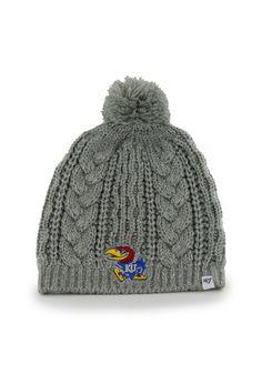 KU Grey Kiowa Knit Cap