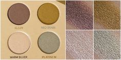 Review | Zoeva Mixed Metals Palette inkl. Swatches und Look