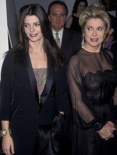 Photo: Catherine Deneuve et sa fille Chiara Mastroianni, 1998. Ron Galella, LTD. - Wireimage ©