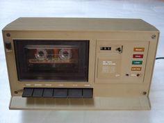 Felix 3810, de 1987. Deck de Compact Cassette rumano, para sonido y datos