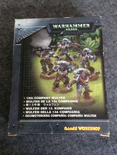 Warhammer 40k Space Wolves Wulfen 13th Company Box Set complete Metal Oop Gw #GamesWorkshop