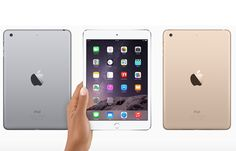 The software giant might just be avoiding an update of the iPad Air this time as analysts believe that the firm is concentrating more on the iPad Mini 3 and iPad Pro instead. Apple Inc is expected to… Ipad Mini 3, Best Ipad, New Ipad Pro, Apple Inc, Ipad Air 2, Best Tablet For Kids, Ipod, Apple Pencil, New Apple Ipad