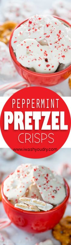 could use gluten free pretzel thins! These super easy Peppermint Pretzel Crisps are a great treat for neighbors or for munching on during Christmas time! Pretzel Thins, Pretzel Crisps, Pretzel Snacks, Christmas Appetizers, Christmas Sweets, Christmas Time, Christmas Goodies, Christmas Crafts, Desserts To Make