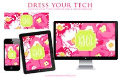 Jessica Marie Design Blog: Happy National Wear Your Lilly Day + Monogram Lilly Dress Your Tech Wallpapers