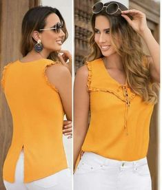 Blouses for women – Lady Dress Designs Blouse Patterns, Blouse Designs, Dope Fashion, Womens Fashion, Sewing Blouses, Short Tops, Long Tops, Work Attire, Blouse Styles