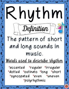 ELEMENT of MUSIC Anchor Charts  TEN Elements of Music Anchor Charts/Posters for your music room!  Each poster defines the element and gives a descriptive word list that students can draw from when they are responding to music listening and analysis questions.    ♫ CLICK through to preview or save for later!  ♫