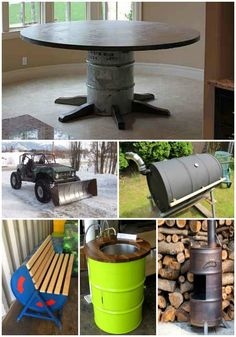 18 Genius Homestead Uses For 55 Gallon Metal Barrels | There are many ways you can repurpose 55 gallon metal barrels on your homestead.